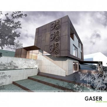 Corten fasada Črnuče
